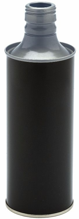 Metal olive oil bottle 500 ml
