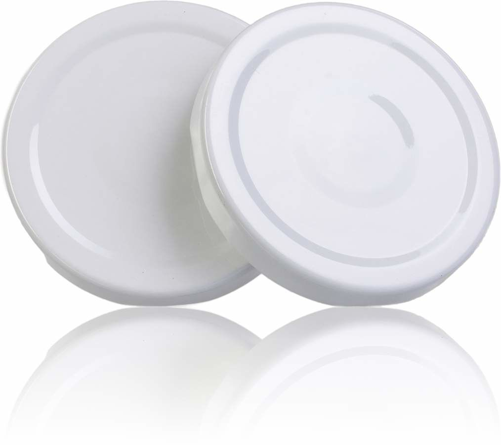 Lid TO 48 White Sterilisation with button
