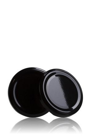 Lid TO 63 Black Pasteurization without button