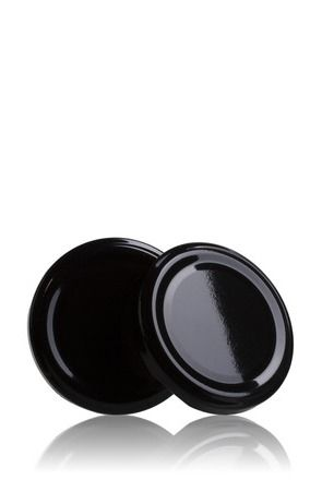 Lid TO 66 Black Pasteurization without button
