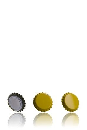 Crown 26 Stopper Yellow
