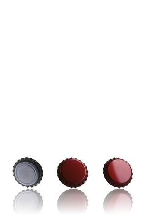 Crown 26 Stopper Red Ruby