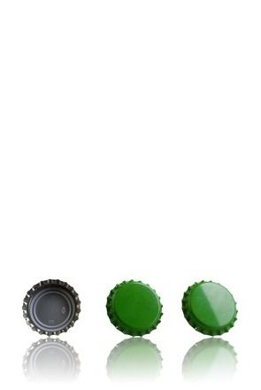 Crown 26 Stopper medium Green