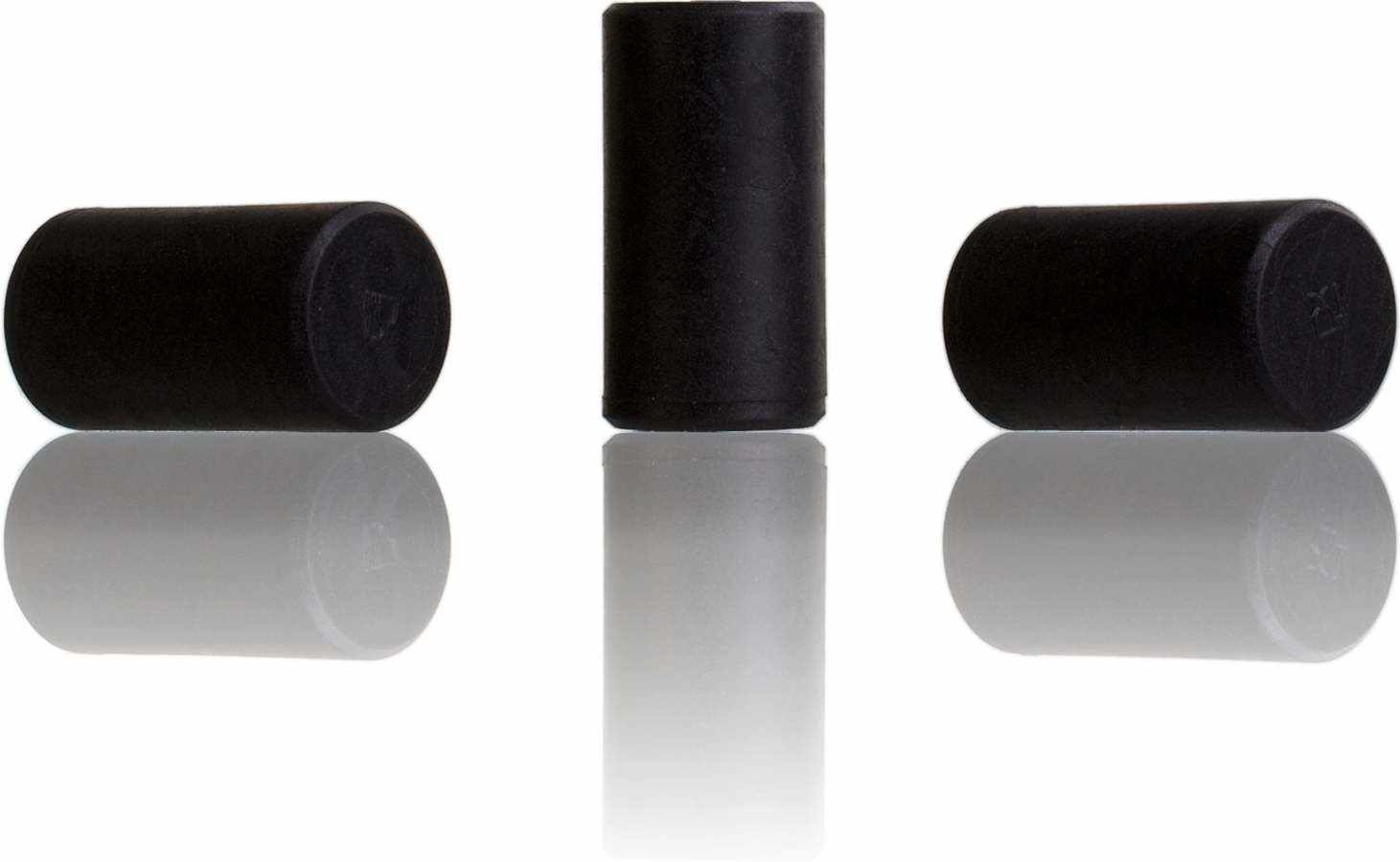 Stopper Black SINTETICO 42x22