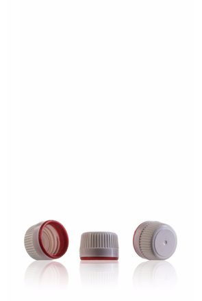Stopper precinto White and red PP28
