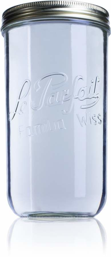 Airtight glass jar Le Parfait Wiss 1500 ml-1500ml-BocaLPW-110mm