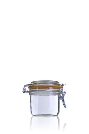 Airtight glass jar Terrine Le Parfait 255 ml-200ml-BocaLPS-070mm